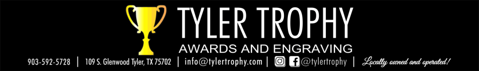 Tyler Trophy - desk clocks, mantel clocks, engraved clocks